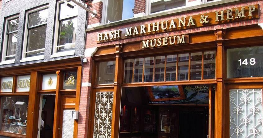 El Museo del Cáñamo y de la Marihuana de Ámsterdam